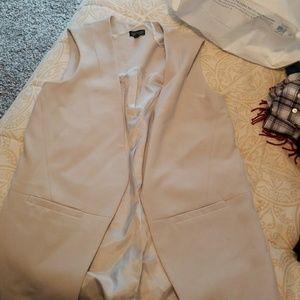 Top shop long fancy vest